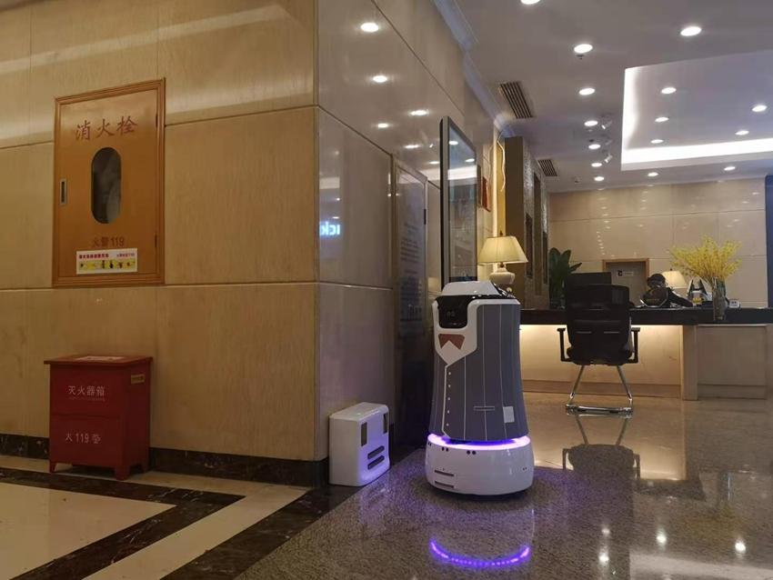 杭州商业大厦酒店机器人应用