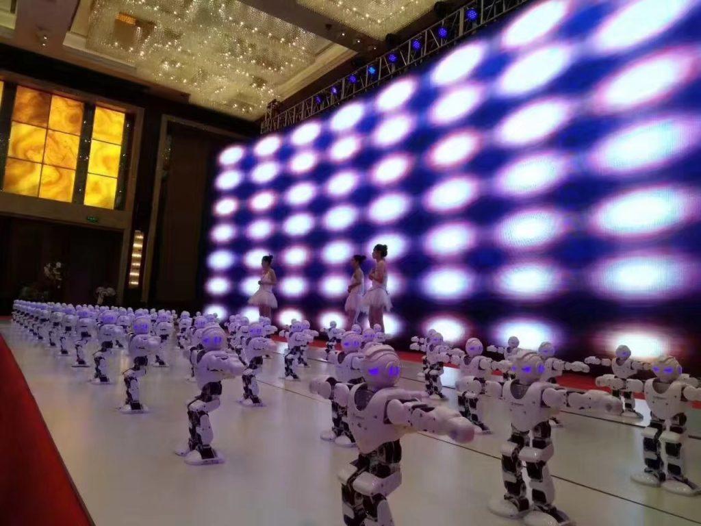 春晚舞蹈机器人