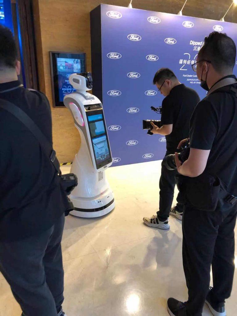 易源创机器人服务于福特汽车经商会议